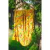 PHULKARI-SUNFLOWER YELLOW  Hand Embroidered Phulkari