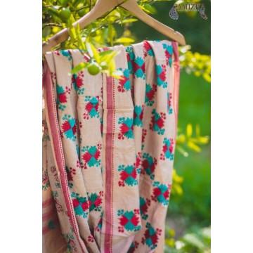 PHULKARI-BRIGHT DAY  Hand Embroidered Phulkari