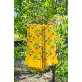 PHULKARI-SUNFLOWER YELLOW